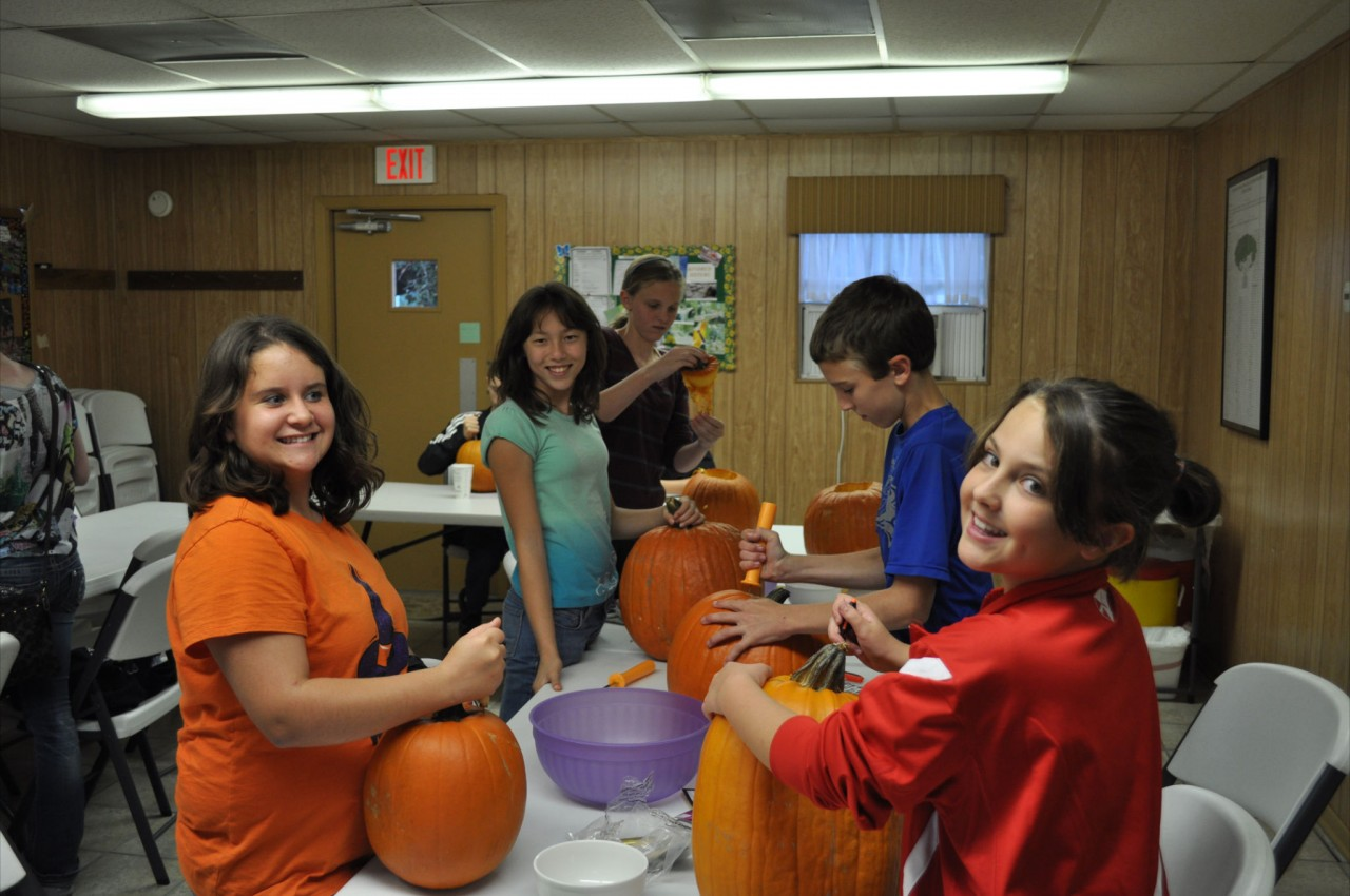 Youth Pumpkin Carving 1